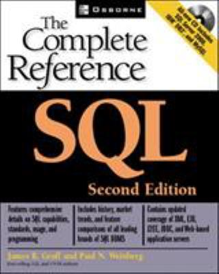 SQL: The Complete Reference, Second Edition [With CDROM] 9780072225594