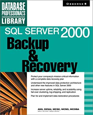 SQL Server 2000 Backup and Recovery 9780072130270