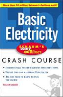 Schaum's Easy Outline of Basic Electricity 9780071383165