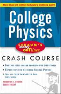 Schaum's Easy Outline of College Physics 9780070527119
