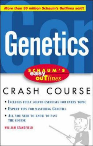 Schaum's Easy Outline of Genetics 9780071383172