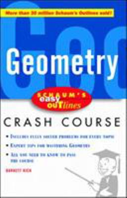 Schaum's Easy Outline of Geometry 9780071369732