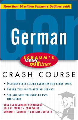 Schaum's Easy Outline of German 9780070527171