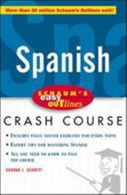 Schaum's Easy Outline of Spanish 9780070527164