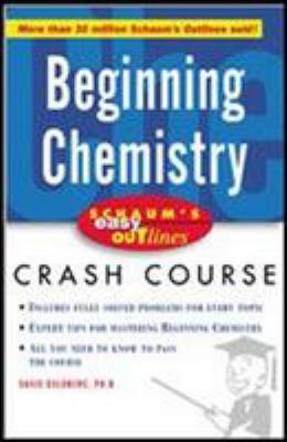 Schaum's Easy Outline of Beginning Chemistry 9780071422390