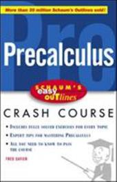 Schaum's Easy Outlines Precalculus: Based on Schaum's Outline of Precalculus