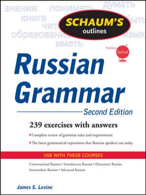 Schaum's Outline: Russian Grammar 9780071611695