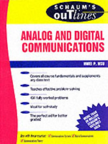 Schaum's Outline of Analog and Digital Communication 9780070306363