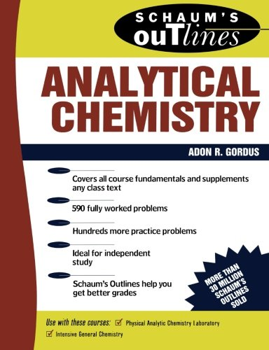 Schaum's Outline of Analytical Chemistry 9780070237957
