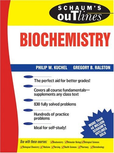 Schaum's Outline of Biochemistry 9780070361492