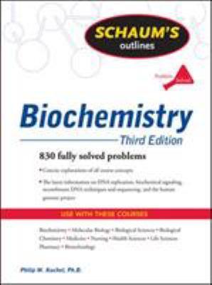 Schaum's Outline of Biochemistry 9780071472272