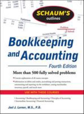 Schaum's Outline of Bookkeeping and Accounting 9780071635363
