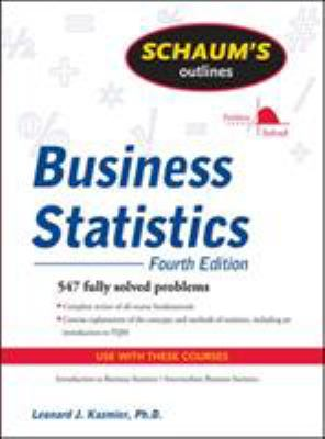 Schaum's Outline of Business Statistics 9780071635271