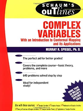 Schaum's Outline of Complex Variables 9780070602304