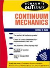 Schaum's Outline of Continuum Mechanics 240028