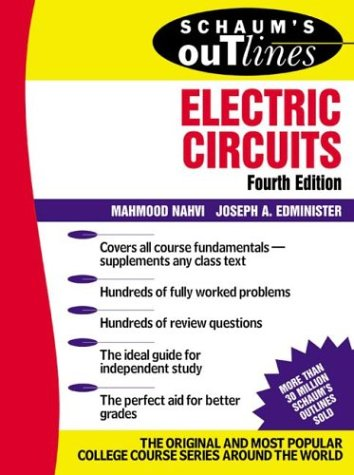 Schaum's Outline of Electric Circuts 9780071393072