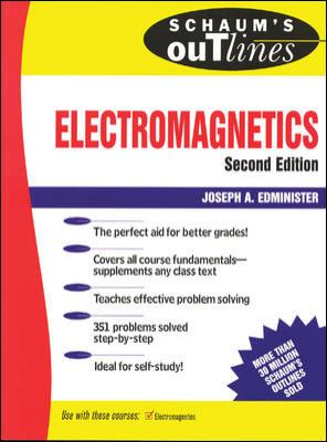 Schaum's Outline of Electromagnetics 9780070212343