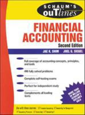 Schaum's Outline of Financial Accounting 2 Ed. 9780071341660