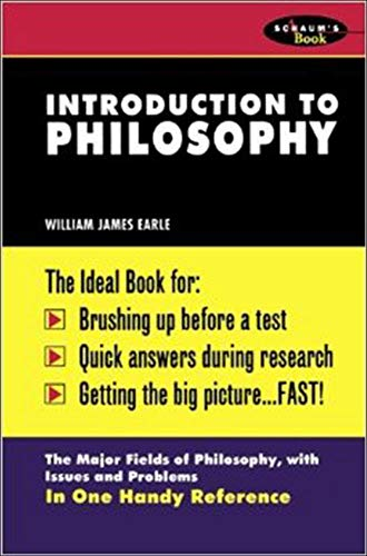Schaum's Outline of Introduction to Philosophy 9780070187832