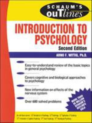 Schaum's Outline of Introduction to Psychology 9780071347099