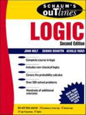 Schaum's Outline of Logic 9780070466494