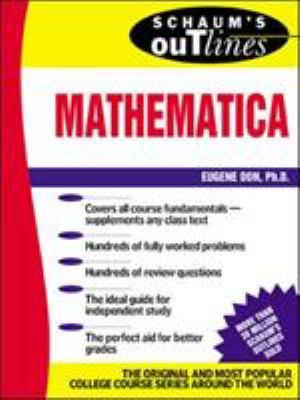 Schaum's Outline of Mathematica 9780071357197