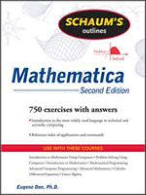 Schaum's Outline of Mathematica 9780071608282