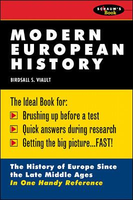 Schaum's Outline of Modern European History 9780070674530