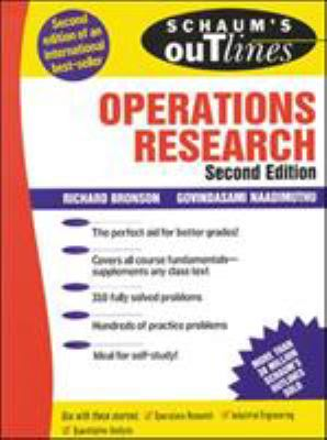 Schaum's Outline of Operations Research 9780070080201