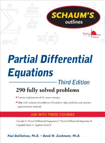 Schaum's Outline of Partial Differential Equations 9780071756181