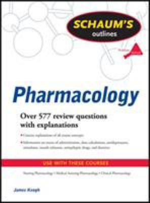 Schaum's Outline of Pharmacology 9780071623629