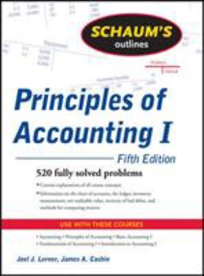 Schaum's Outline of Principles of Accounting I 9780071635387