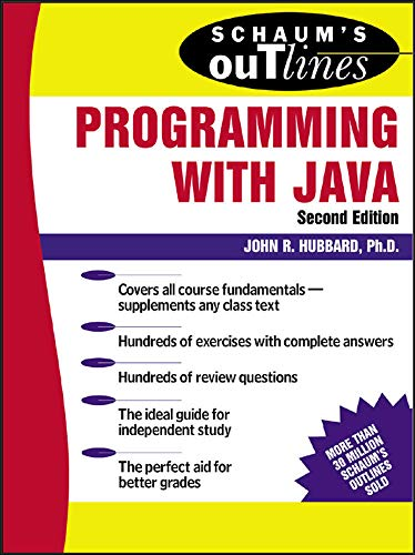 Schaum's Outline of Programming with Java 9780071420402