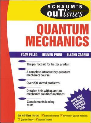 Schaum's Outline of Quantum Mechanics 9780070540187