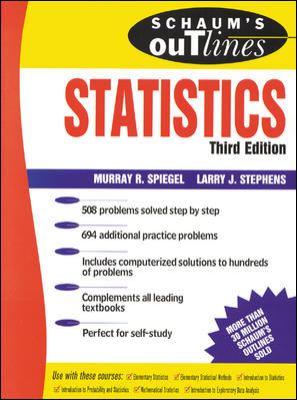 Schaum's Outline of Statistics 9780070602816