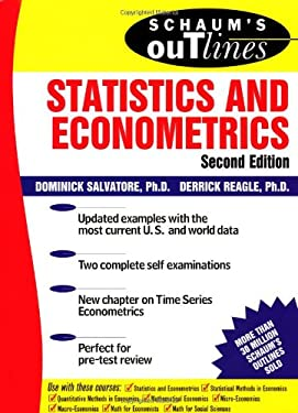 Schaum's Outline of Statistics and Econometrics 9780071348522