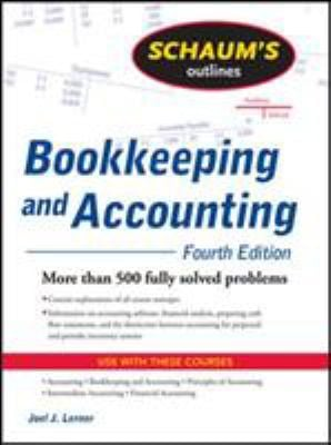 Schaum's Outline of Theory and Problems Bookkeeping and Accounting 9780071464581