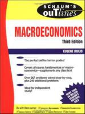 Schaum's Outline of Theory and Problems Macroeconomics 9780070170537
