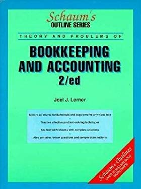 Schaum's Outline of Theory and Problems of Bookkeeping and Accounting 9780070372313