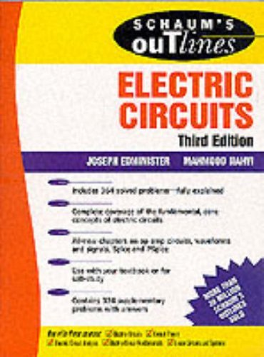 Schaum's Outline of Theory and Problems of Electric Circuits 9780070189997