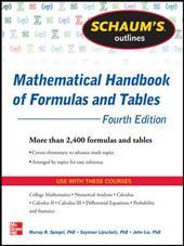 Schaum's Outlines: Mathematical Handbook of Formulas and Tables