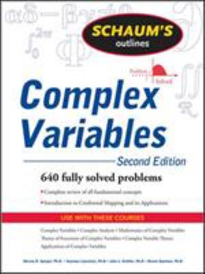 Schaum's Outlines Complex Variables 9780071615693