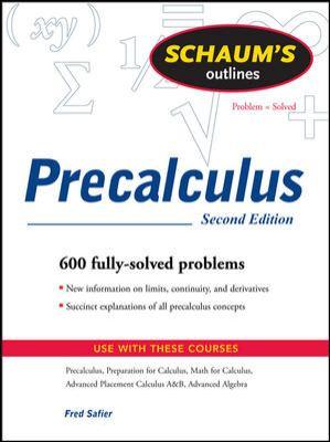 Schaum's Outlines Precalculus 9780071508643