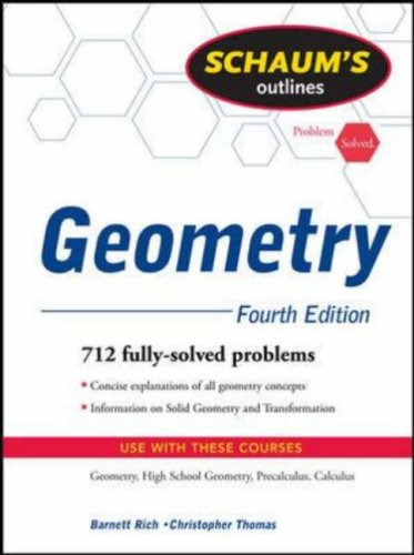 Schaum's Outlines: Geometry 9780071544122