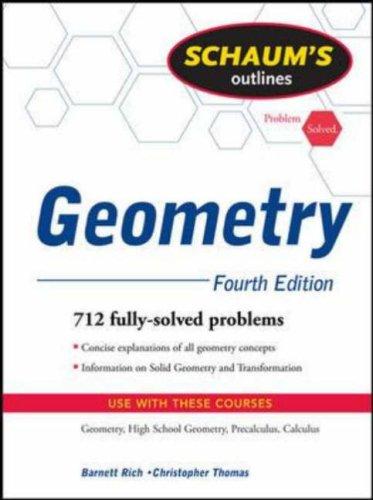 Schaum's Outlines: Geometry