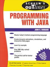 Schaum's Outlines of Programming with Java