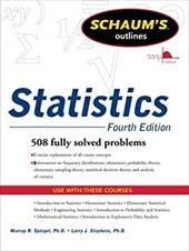 Schaums Outline of Statistics, Fourth Edition