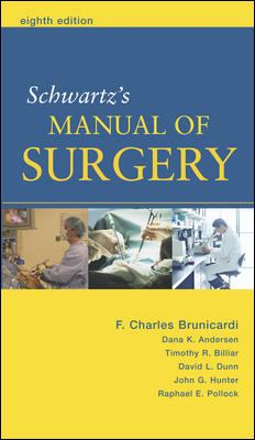 Schwartz's Manual of Surgery 9780071446884