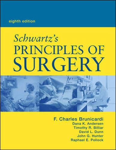 Schwartz's Principles of Surgery 9780071410908