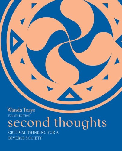 Second Thoughts: Critical Thinking for a Diverse Society 9780073386706